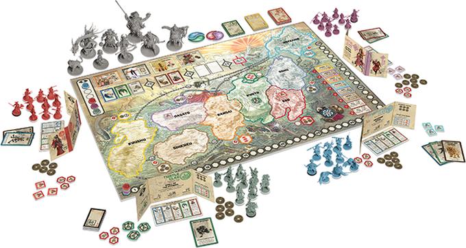 Rising sun una questione d 39 onore recensione del gioco da - La battaglia dei cinque eserciti gioco da tavolo ...