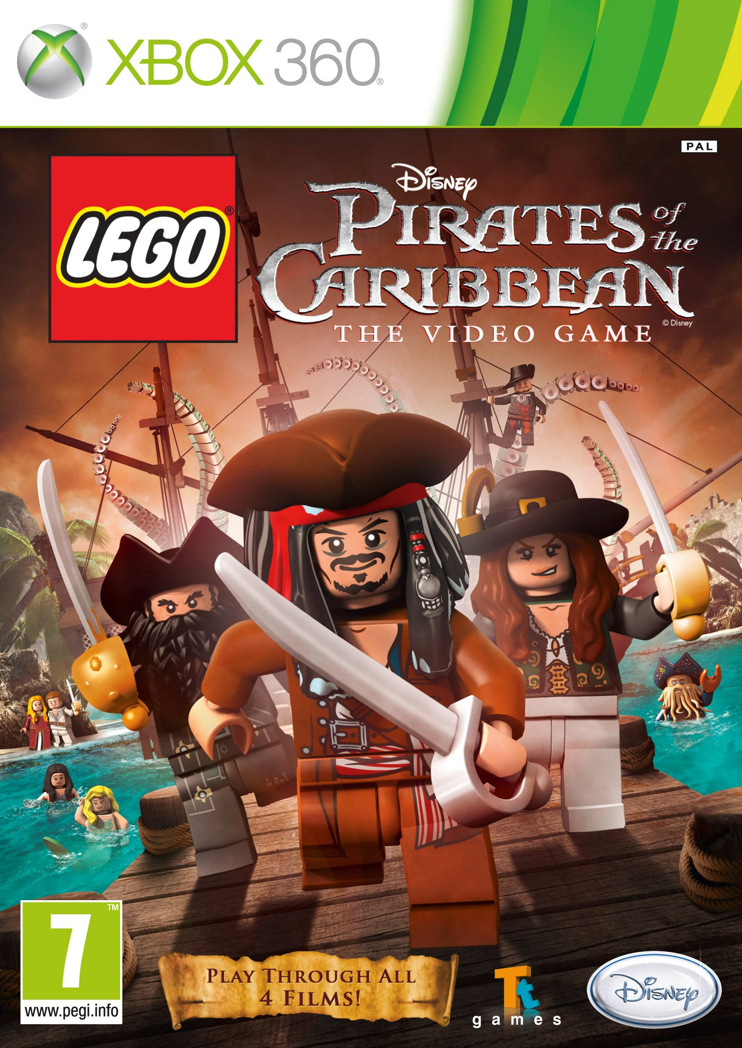 Lego Pirati Dei Caraibi Xbox 360 Lego Pirati Dei Caraibi