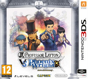 Professor Layton vs. Ace Attorney - 3DS