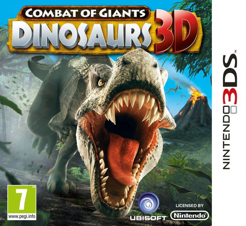 Combattimenti fra Giganti: Dinosauri 3D - 3DS