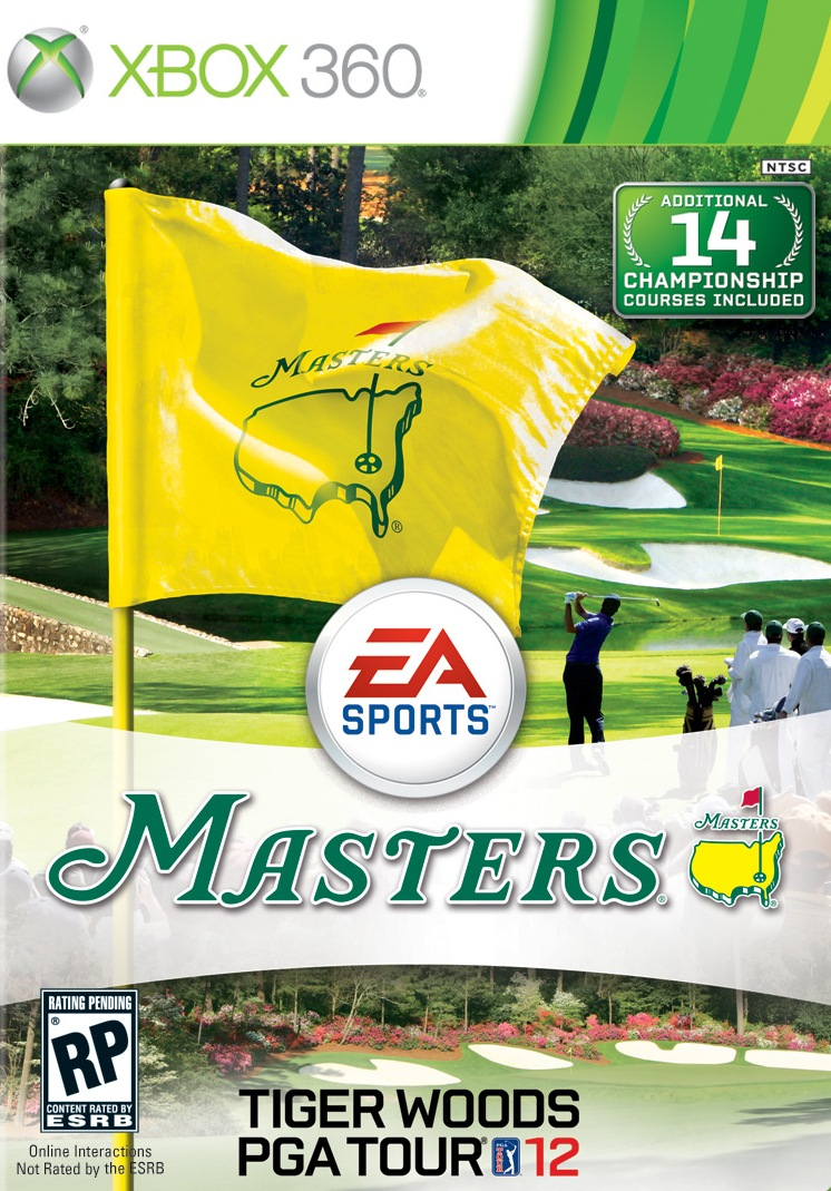 Tiger Woods PGA TOUR 12: The Masters (2011) RF.Xbox 360