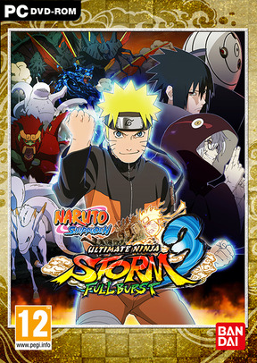 Naruto Shippuden: Ultimate Ninja Storm 3 Full Burst - ND.