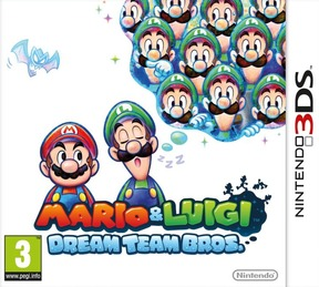 Mario & Luigi Dream Team Bros. - 3DS