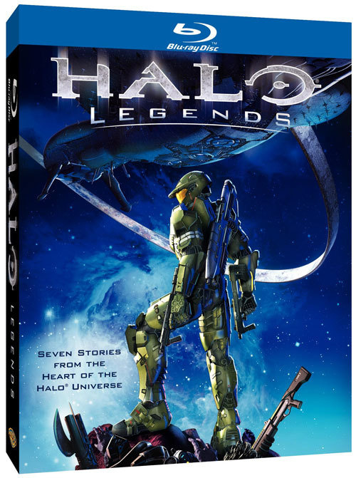 Halo Legends (Blue Ray Disk) Media