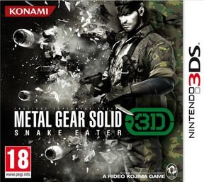 Metal Gear Solid 3D Snake Eater - ND.