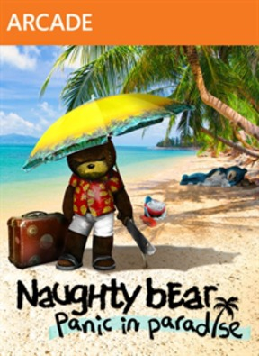 Naughty Bear - Panic in Paradise - XBOX 360