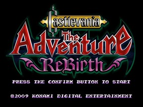 Castlevania: The Adventure Rebirth - Wii