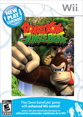 Donkey Kong Jungle Beat New Play Control - Wii