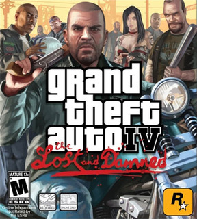 Grand Theft Auto 4: The Lost and Damned - XBOX 360