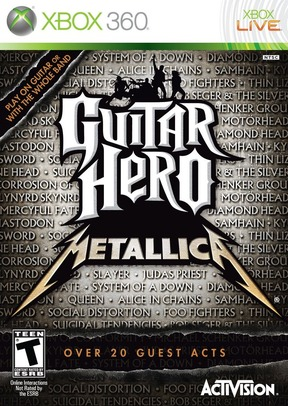 Guitar Hero : Metallica - XBOX 360