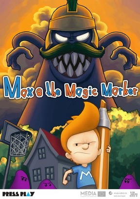 Max & The Magic Marker - Wii