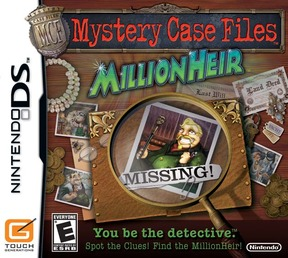 Mystery Case Files : MillionHeir - NDS