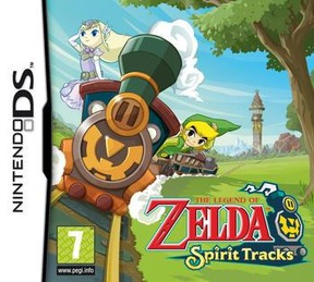 The Legend of Zelda: Spirit Tracks - NDS