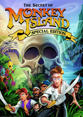 The Secret of Monkey Island: Special Edition - PC