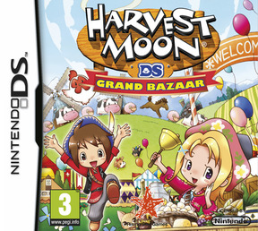 Harvest Moon: Grand Bazaar - NDS