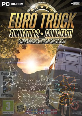 Euro Truck Simulator 2: Going East! - PC