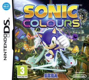Sonic Colors - NDS