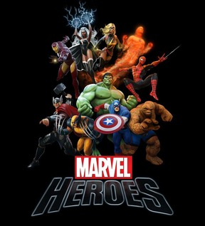 Marvel heroes nd