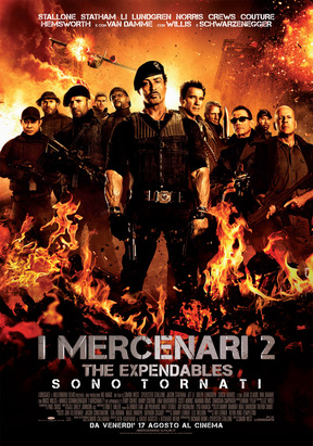 I Mercenari 2 - Cinema