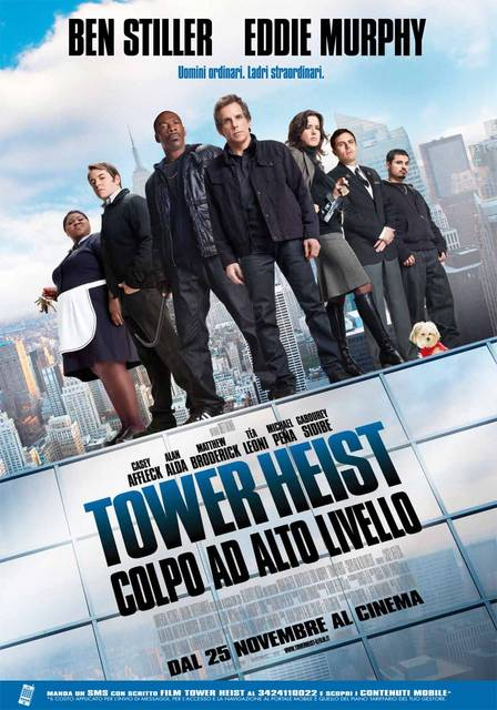 Tower Heist Colpo Ad Alto Livello download ITA 2011  (TORRENT)