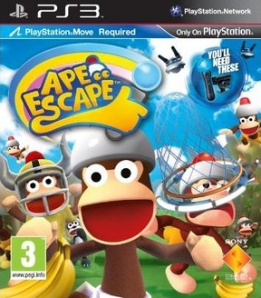 Ape Escape Move - PS3