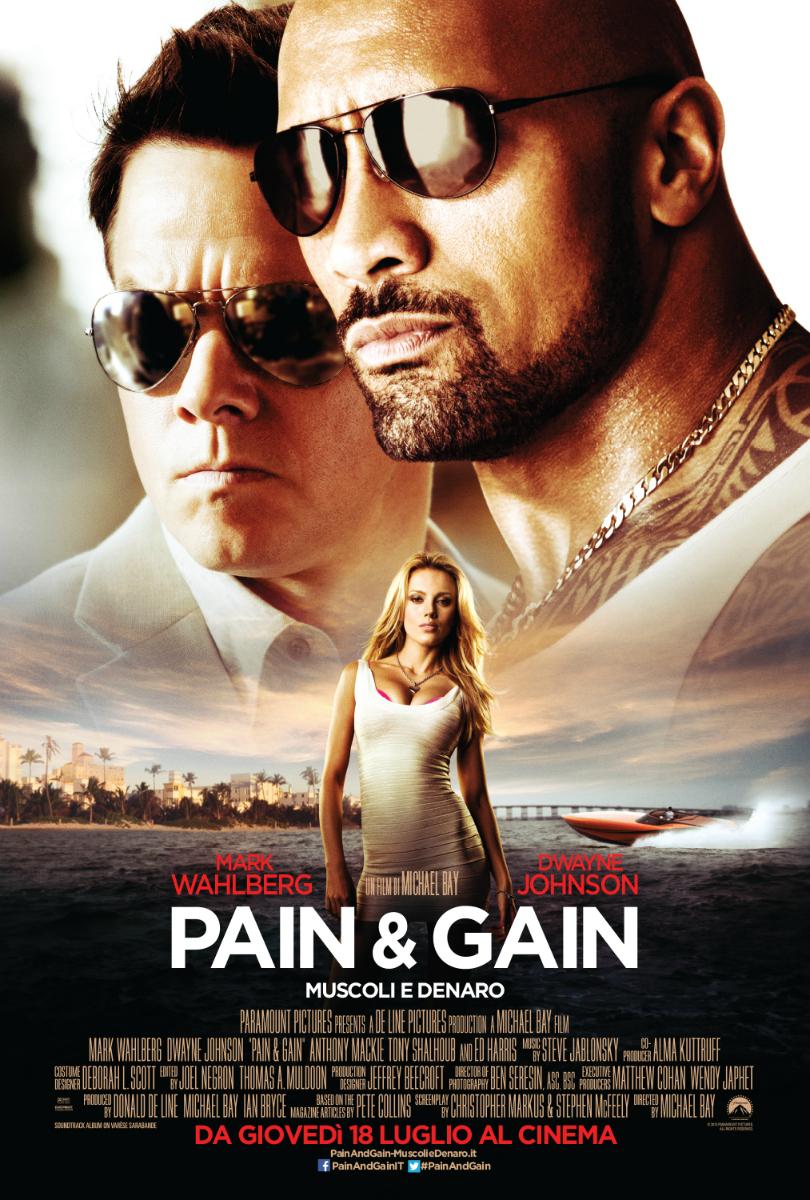 Pain and gain muscoli e denaro cover