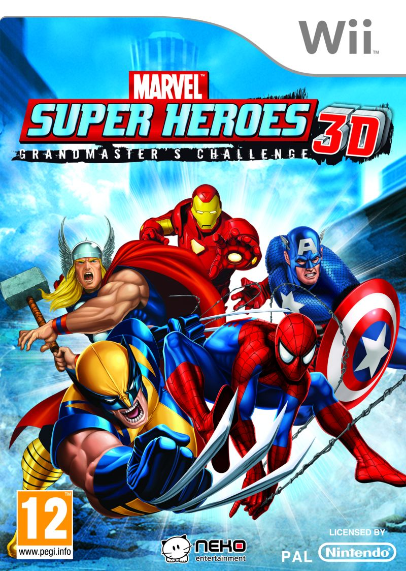 Marvel super heroes 3d grandmaster challenge wii