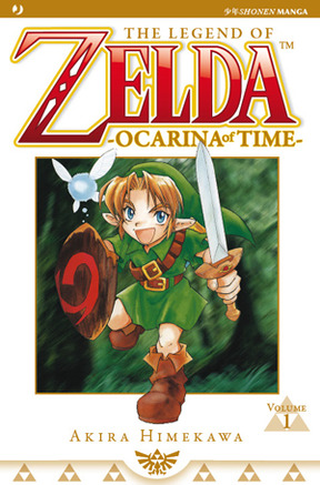 The legend of Zelda - Ocarina of time - Anime