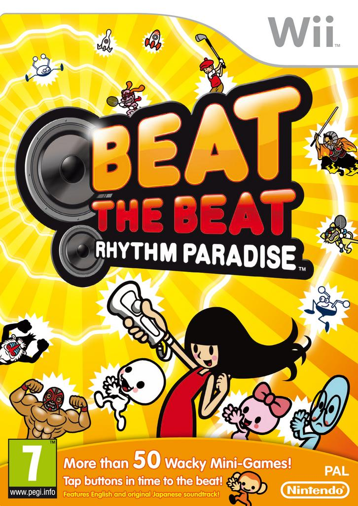 Beat the Beat: Rhythm Paradise - Wii