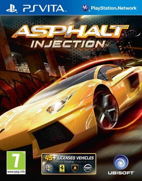 Asphalt Injection - PS Vita