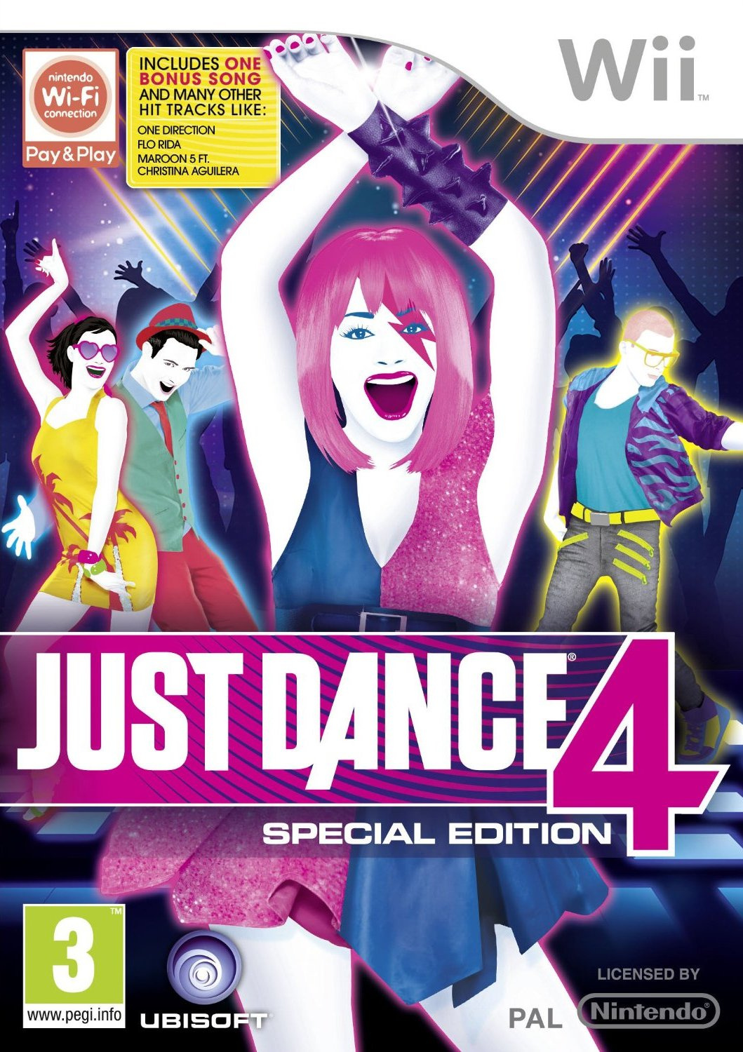 come scaricare just dance 4 per wii