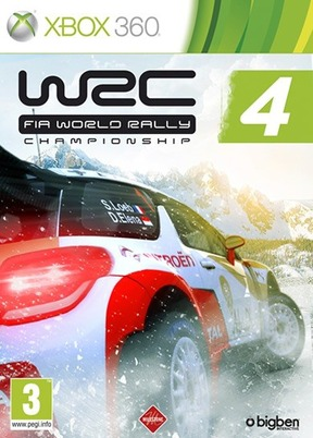 WRC FIA World Rally Championship 4 - XBOX 360