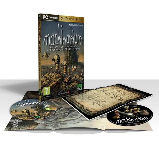 Machinarium, immagine della Collector's Edition