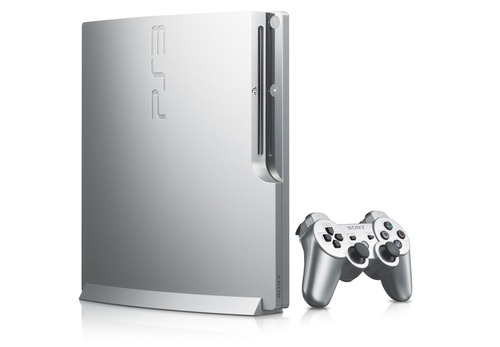 La PlayStation 3 si colora d'argento in Giappone