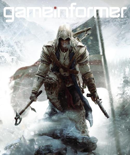 Assassin's Creed 3: nuove illustrazioni dalle copertine di Game Informer