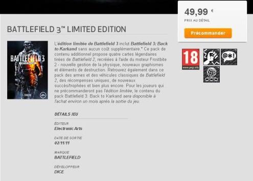 [Rumor] Battlefield 3 in uscita il 2 Novembre?