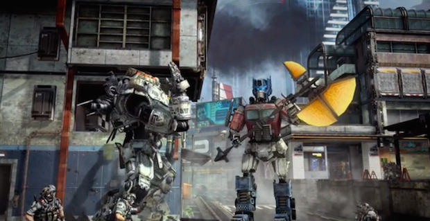 Titanfall: DLC dedicato a Optimus Prime
