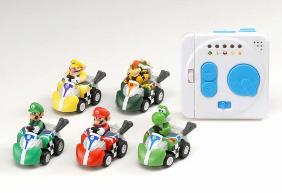 I modellini ufficiali ispirati a Mario Kart mettono il turbo