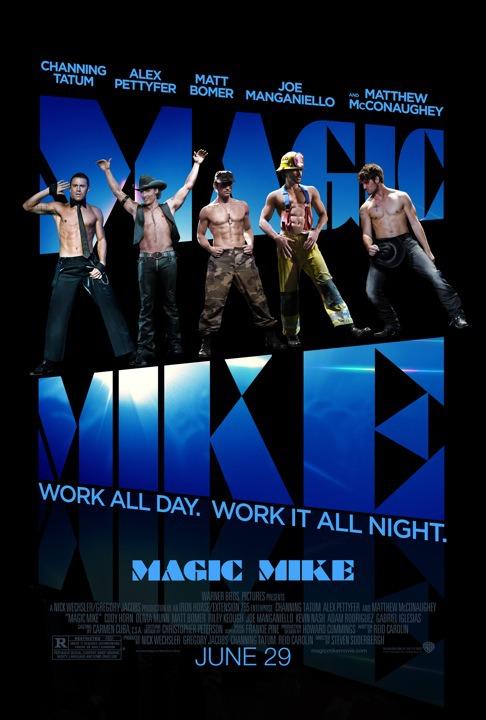 Magic Mike: il poster del film