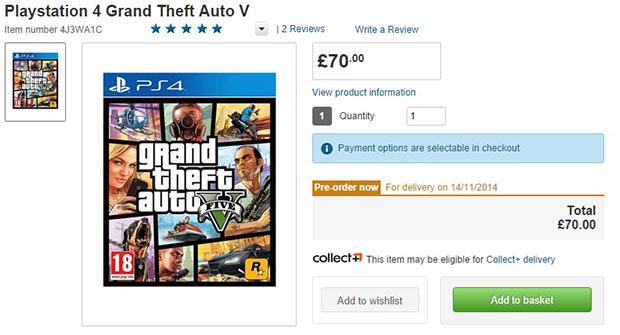 GTA 5 per PC, PlayStation 4 e Xbox One uscirà a novembre?