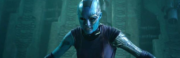 Guardiani della Galassia: ecco il video in cui Karen Gillan si taglia i capelli - Notizia
