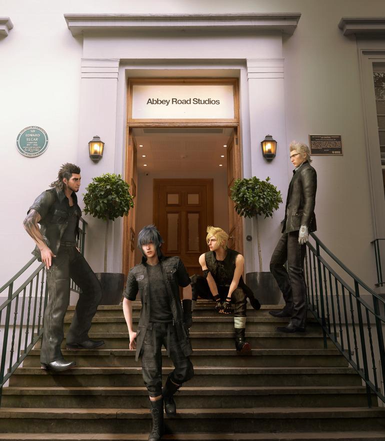 Final Fantasy 15 agli Abby Road Studios di Londra il 7 settembre