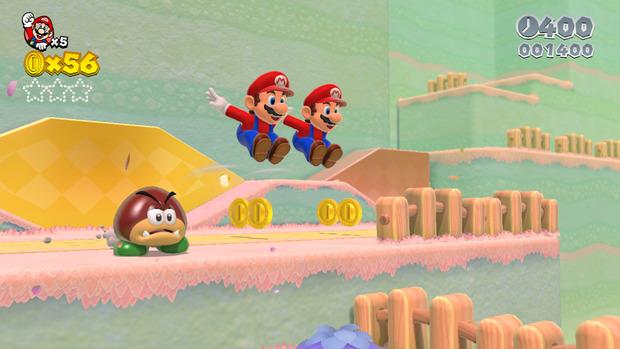 Super Mario 3D World si mostra in screenshot inediti
