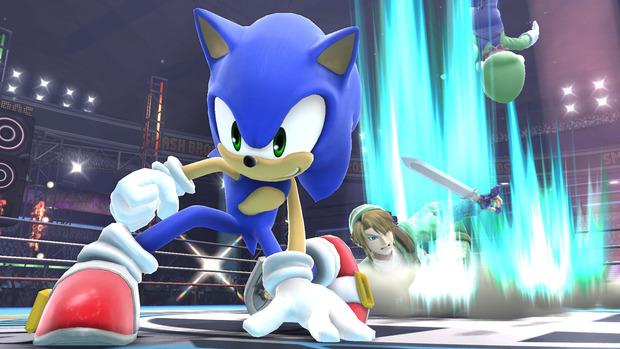Super Smash Bros: Sonic si mostra in nuovi screenshot