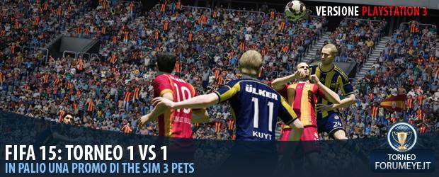 [Ps3]FIFA 15: Torneo 1 Vs 1 - Notizia