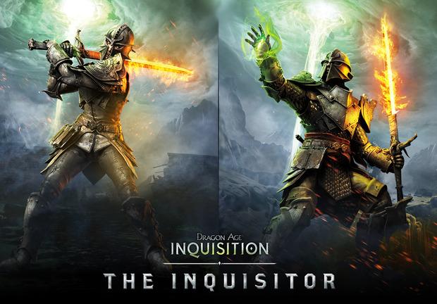 Dragon Age Inquisition: poster dei personaggi