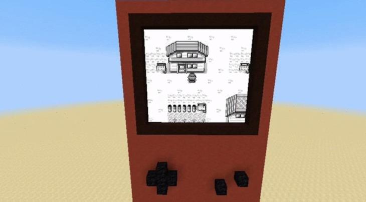 Un utente ricrea Pokemon Rosso all'interno di Minecraft