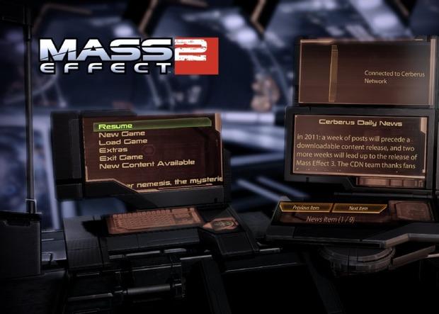 Mass Effect 2: stop alle notizie giornaliere del Cerberus Network, confermato un nuovo DLC