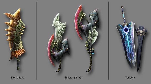 Monster Hunter 3 avrà 3 nuove armi create dai fan