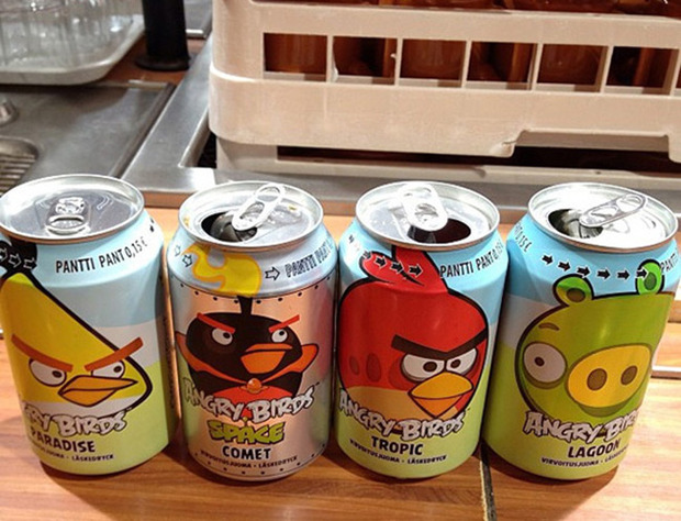 Angry Birds soda: gran successo in Finlandia, in arrivo in altri paesi
